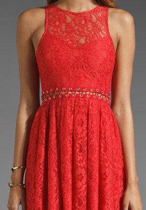 Style Stalker Love Me Do Lace Up Dress
