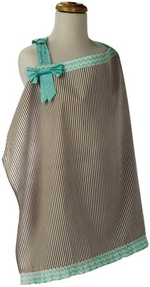 Trend Lab Cocoa Mint Nursing Cover