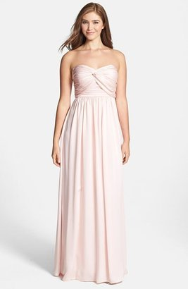 Jarlo Ruched Satin Gown