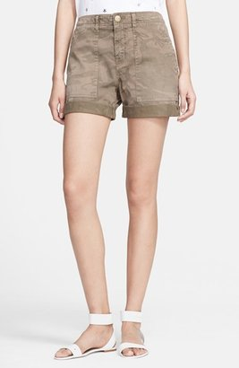 Current/Elliott 'The Army' Rolled Shorts (Nordstrom Exclusive)