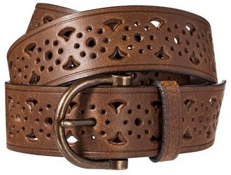 Mossimo Perforated Belt - Brown