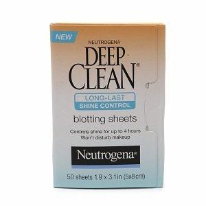 Neutrogena Deep Clean Shine-Control Long-Last Blotting Sheets