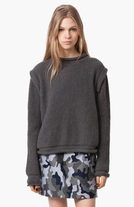 Christopher Kane Ribbed Cashmere Sweater