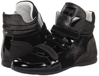 Primigi Elsie FA13 (Little Kid) (Black/Grey) - Footwear