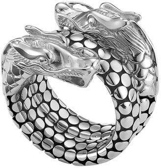 John Hardy Naga Head Coil Ring