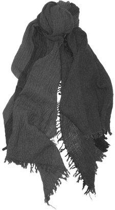 Isabel Marant Jaden checked wool-blend scarf