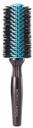 Moroccanoil R) Ceramic Barrel Boar Bristle Round Brush for Medium Length Hair