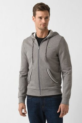 Lacoste Full Zip Hoody With Contrast Trim