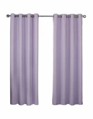 Home Outfitters Exclusive Home Textured Woven Blackout Grommet Top Window Curtain Panel Pair