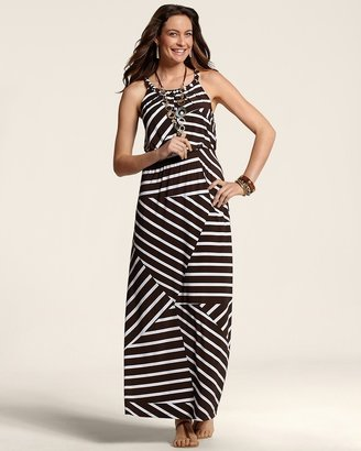 Chico's Striped Brooke Dress