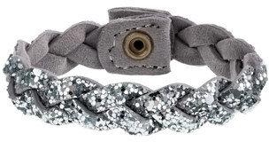 J.Crew Girls' glitter braid bracelet