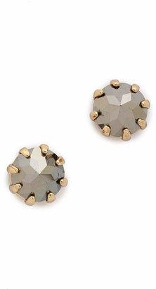 Rebecca Minkoff Rhinestone Stud Earrings $28 thestylecure.com
