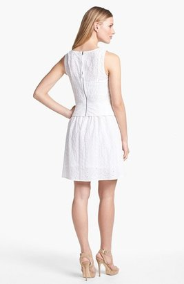 Marc by Marc Jacobs 'Rosie' Cotton & Silk A-Line Dress