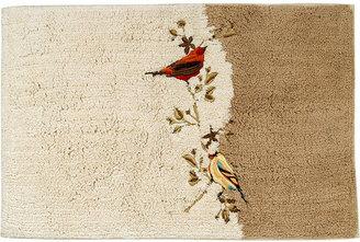 Avanti Bath Rug, Gilded Birds Bedding