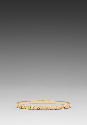 Marc by Marc Jacobs Letterpress Bangle