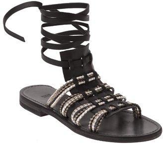 Hache Open-toe sandal