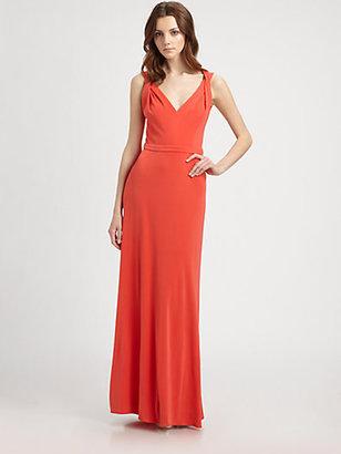 Issa Silk Jersey Gown