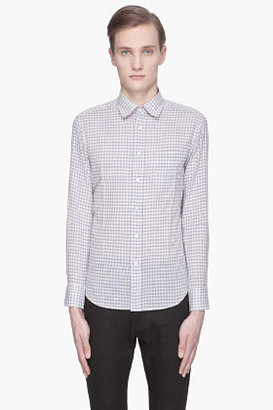 Rag and Bone RAG & BONE Blue checkered Yokohama Shirt