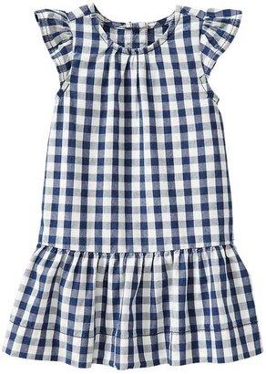 Gap Checkered flutter dress