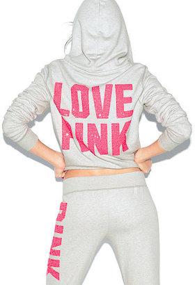 Victoria's Secret PINK Bling Perfect Zip Hoodie