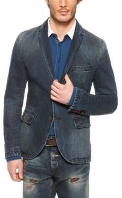 HUGO BOSS 'Beneslim' - Slim Fit, Cotton Denim Sport Coat
