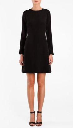 Tibi Silk CDC Long Sleeve Dress