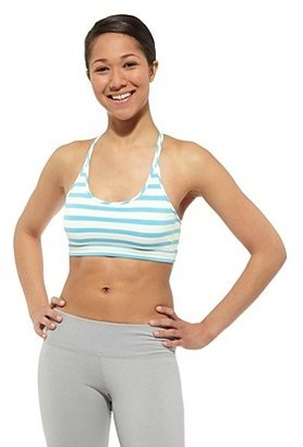 Reebok Studio Stripe Short Bra Top