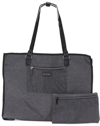 Hangeroo Combo Garment Bag And Tote