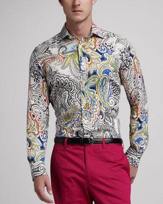 Etro Paisley Sport Shirt