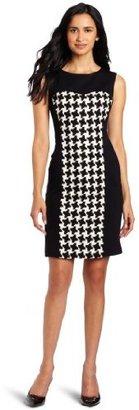 Suzi Chin Women's Houndtooth Dress