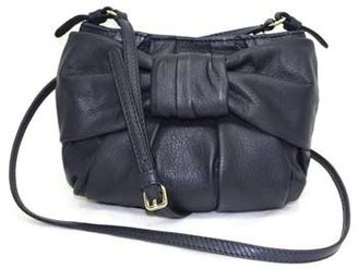 "Valentino FQB00322"" Blue Leather Mini Shoulder/Cross-body Bag"