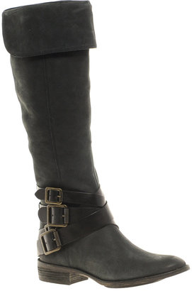 Sam Edelman Pia Leather Flat Knee High Boot