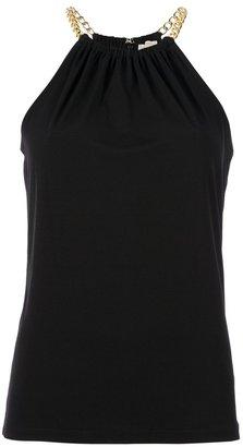 MICHAEL Michael Kors halter neck chain vest