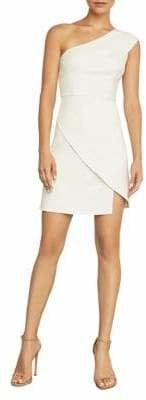 BCBGMAXAZRIA Aryanna Asymmetrical One-Shoulder Dress