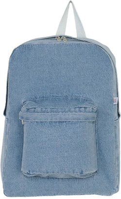 American Apparel Denim School Bag