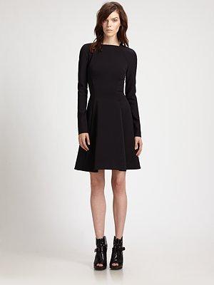 Proenza Schouler Full-Skirted Dress