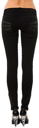 Tripp NYC The Faux Leather Z-Cut Pant