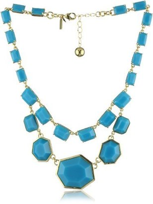 """Kate Spade Mulholl and Drive"""" Blue Double Row Necklace"""