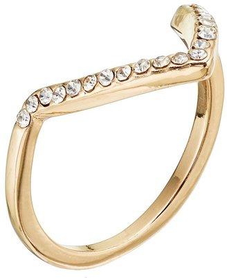 Lauren Conrad chevron ring