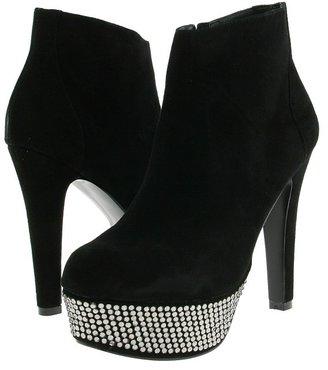 Steve Madden Banngg (Black Suede) - Footwear