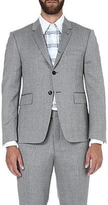 Thom Browne Herringbone two-button wool jacket
