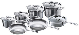 Le Creuset Tri-Ply Stainless-Steel Cookware Set, 12 piece