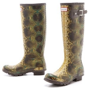 Hunter boots Snake Boots