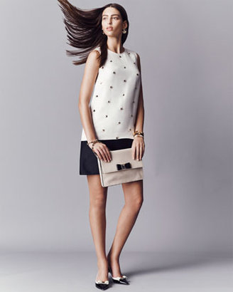Kate Spade Rosita Studded Colorblock Dress