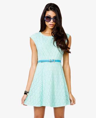 Forever 21 A-Line Eyelet Dress