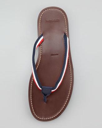 Moncler Ajaccio Thong Sandal