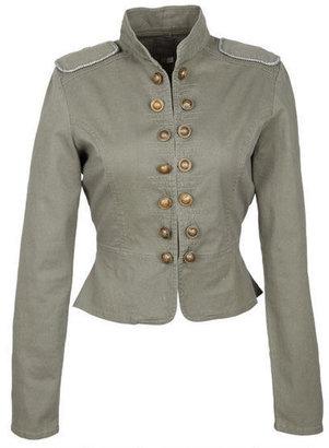 Delia's Military Button Jacket