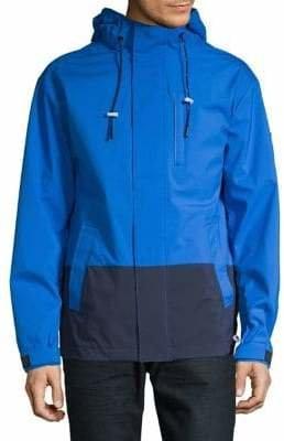 DKNY Logo Hooded Jacket