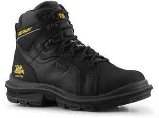Caterpillar Men's Manifold Steel Toe Work Boot -Black