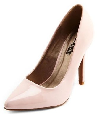 Charlotte Russe Patent Pointy Toe Pump